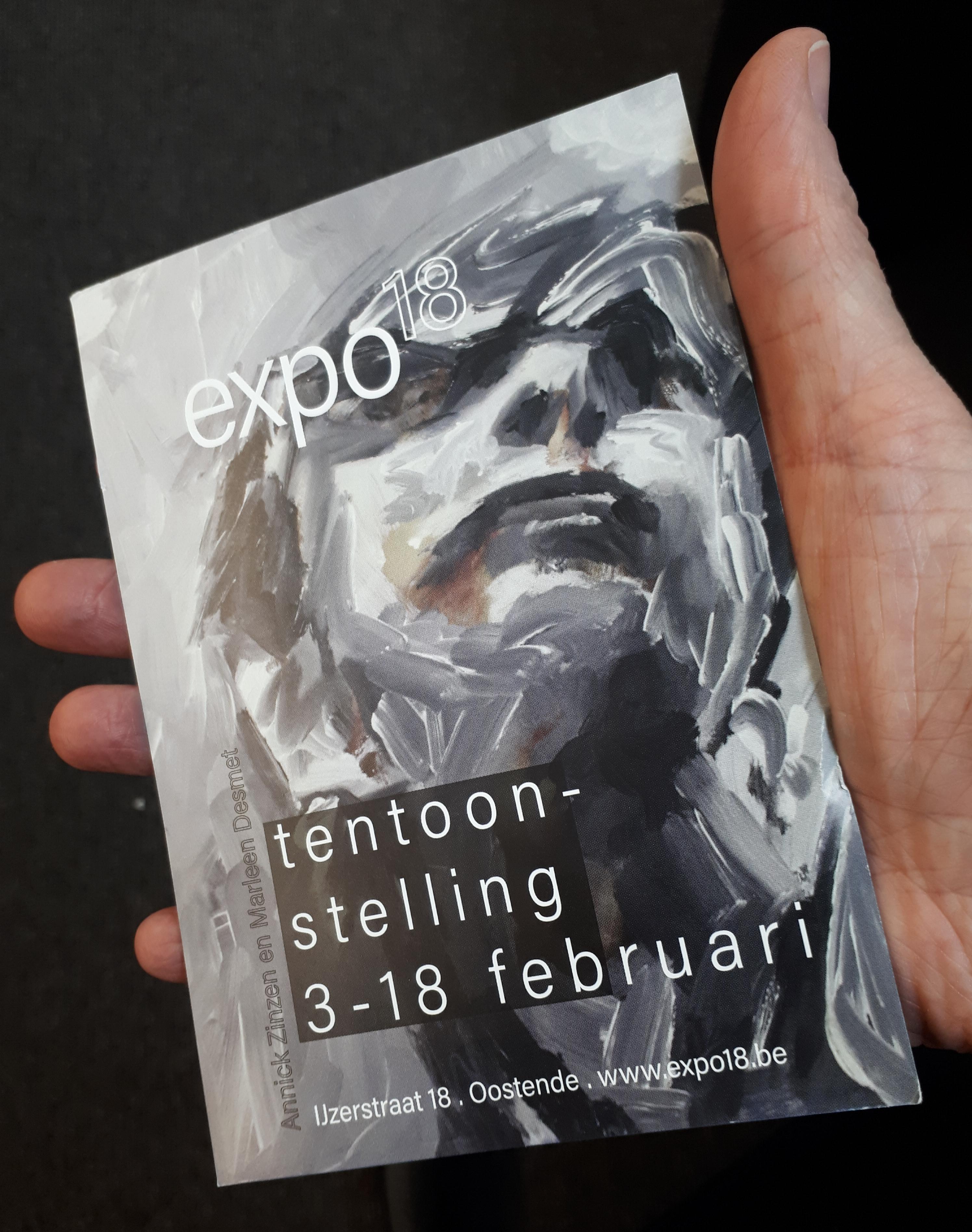 Expo18, IJzerstraat, Oostende